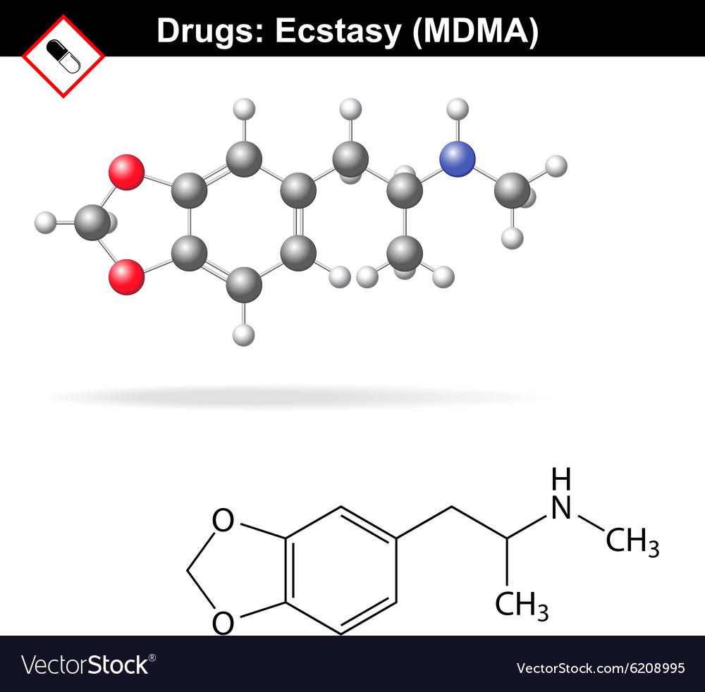 Ecstasy recreational drug