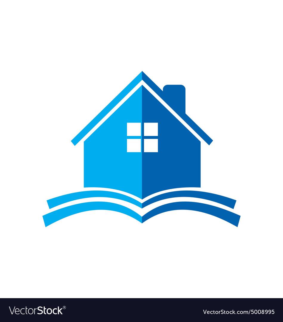 House construction book logo