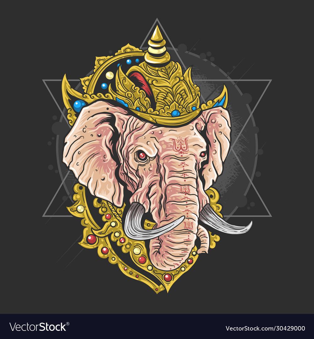 Lord ganesha hindu god artwork