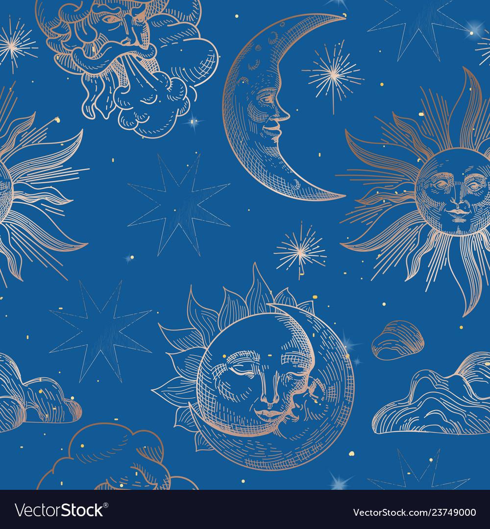 seamless pattern oriental Vector Image