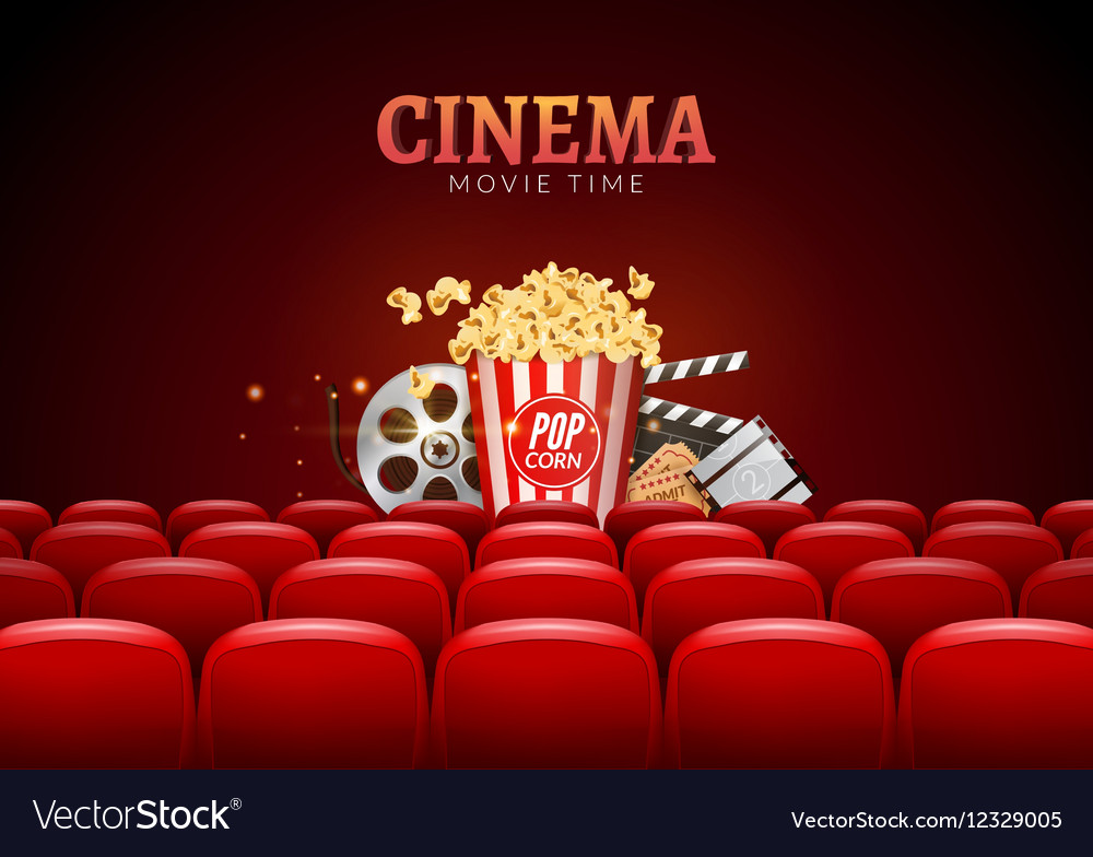 Movie Cinema Premiere Poster Design Template