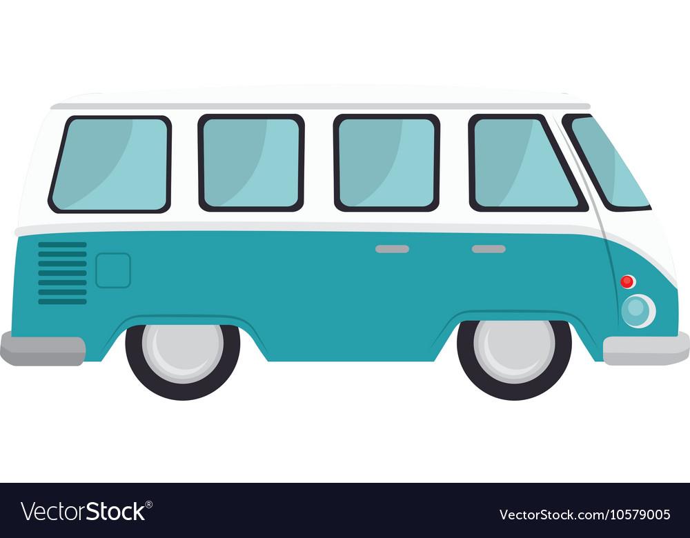 Retro van vehicle
