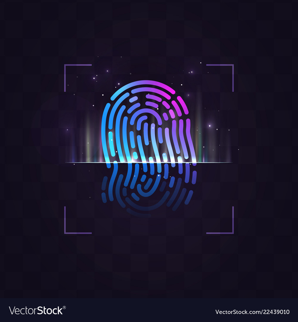 Abstract fingerprint recognition system
