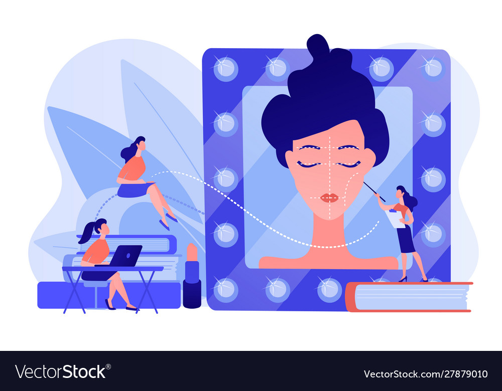 Makeup Courses Concept Royalty Free