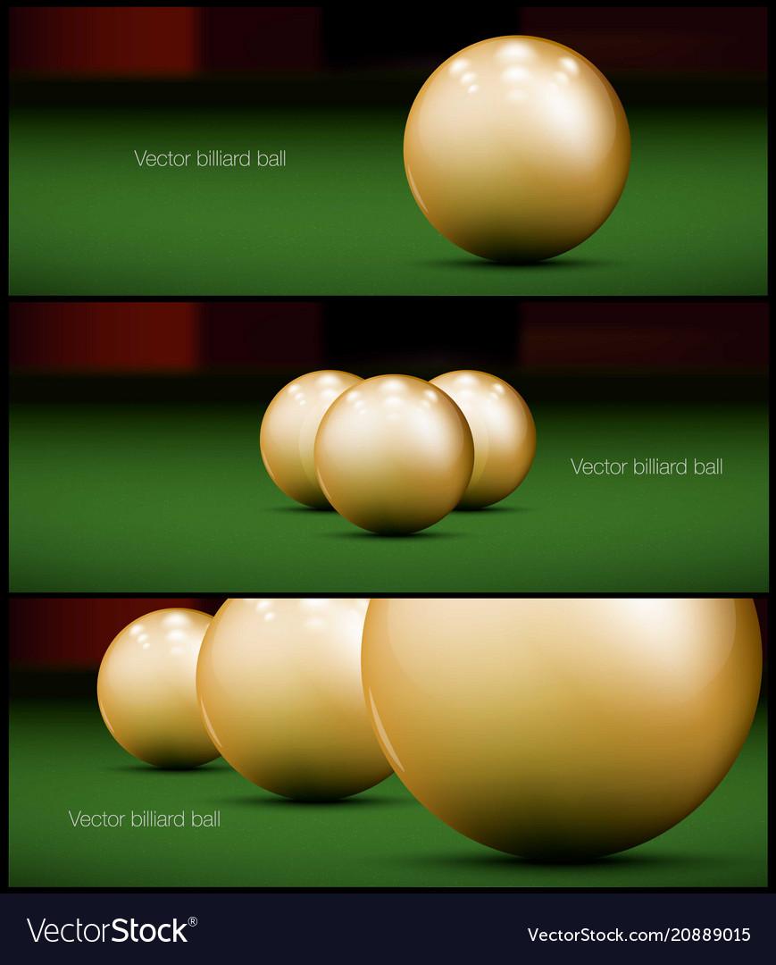 Billiards banner for facebook poster design