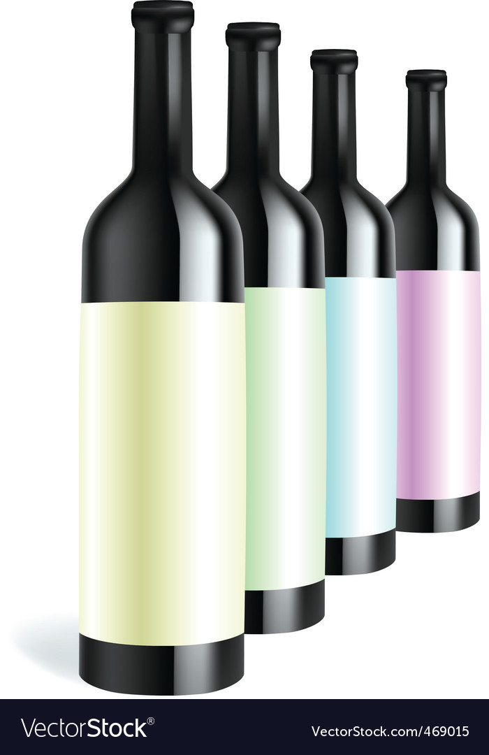 Bottle3 vector