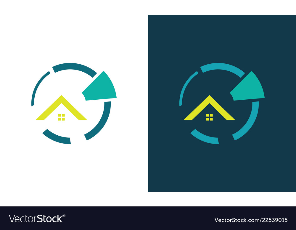 Circle home business logo