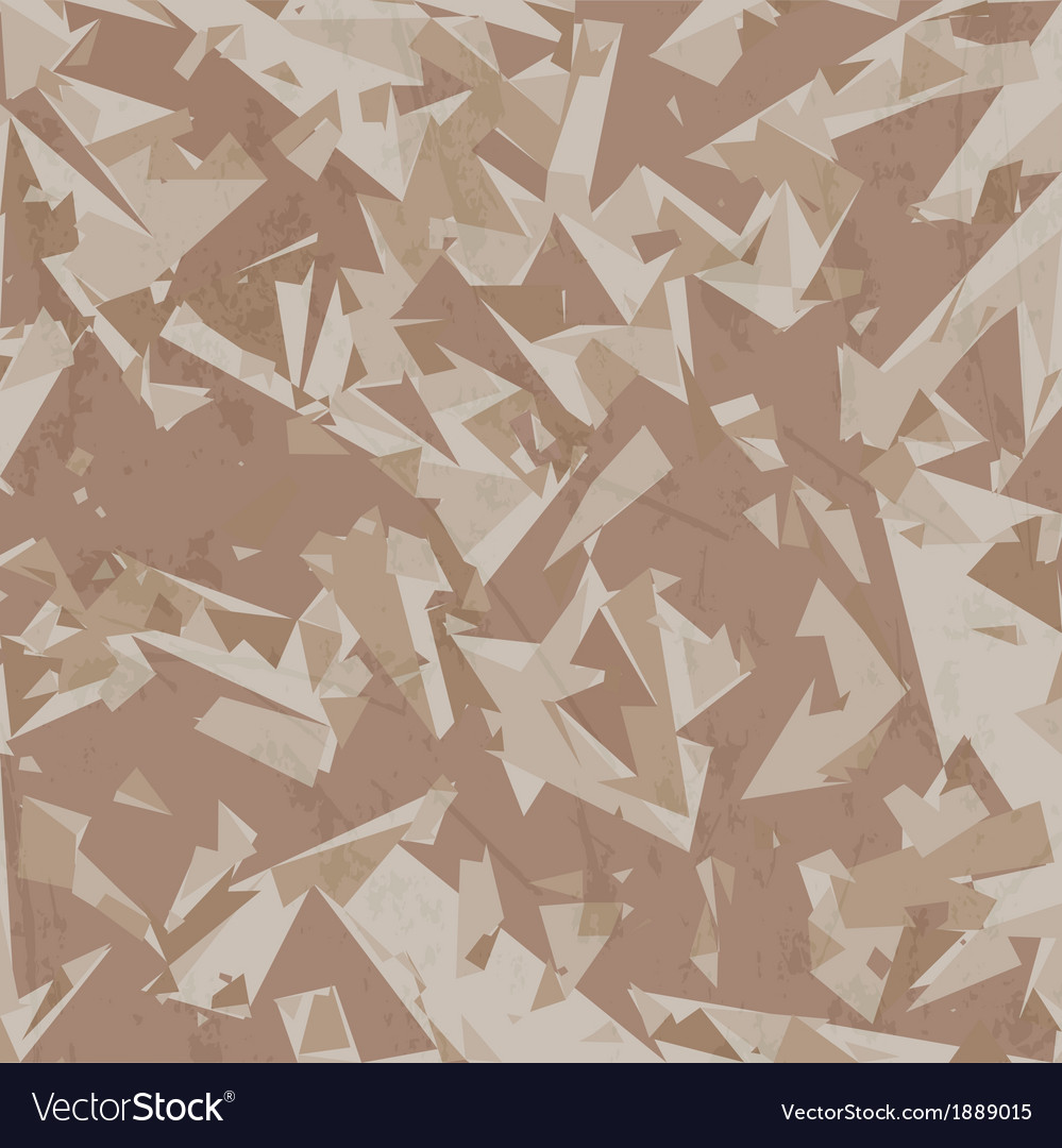 Desert army camouflage background vector image