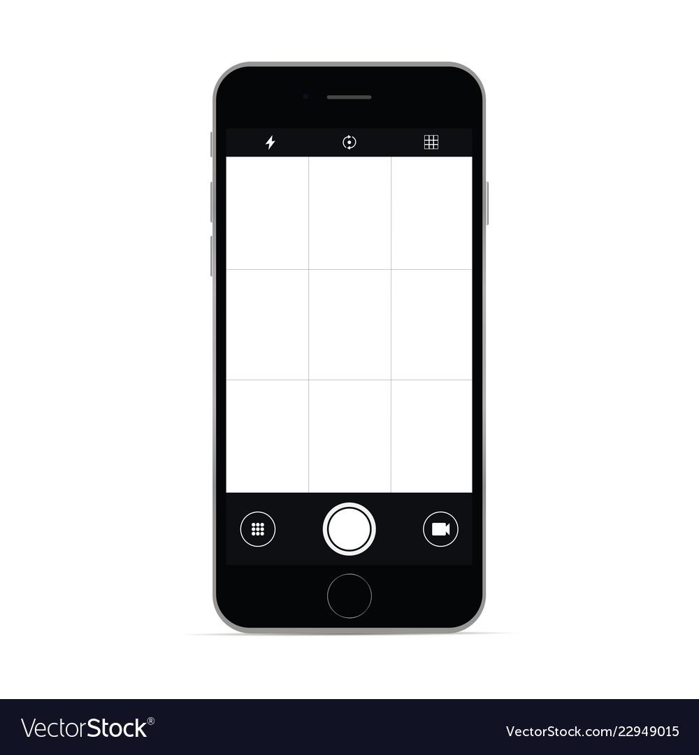 Smartphone with camera