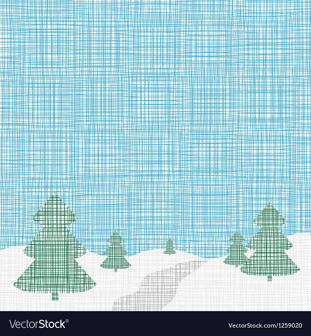 Christmas card template Background Linen folk