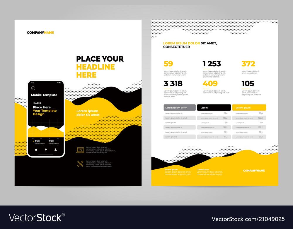 Abstract background for business documents