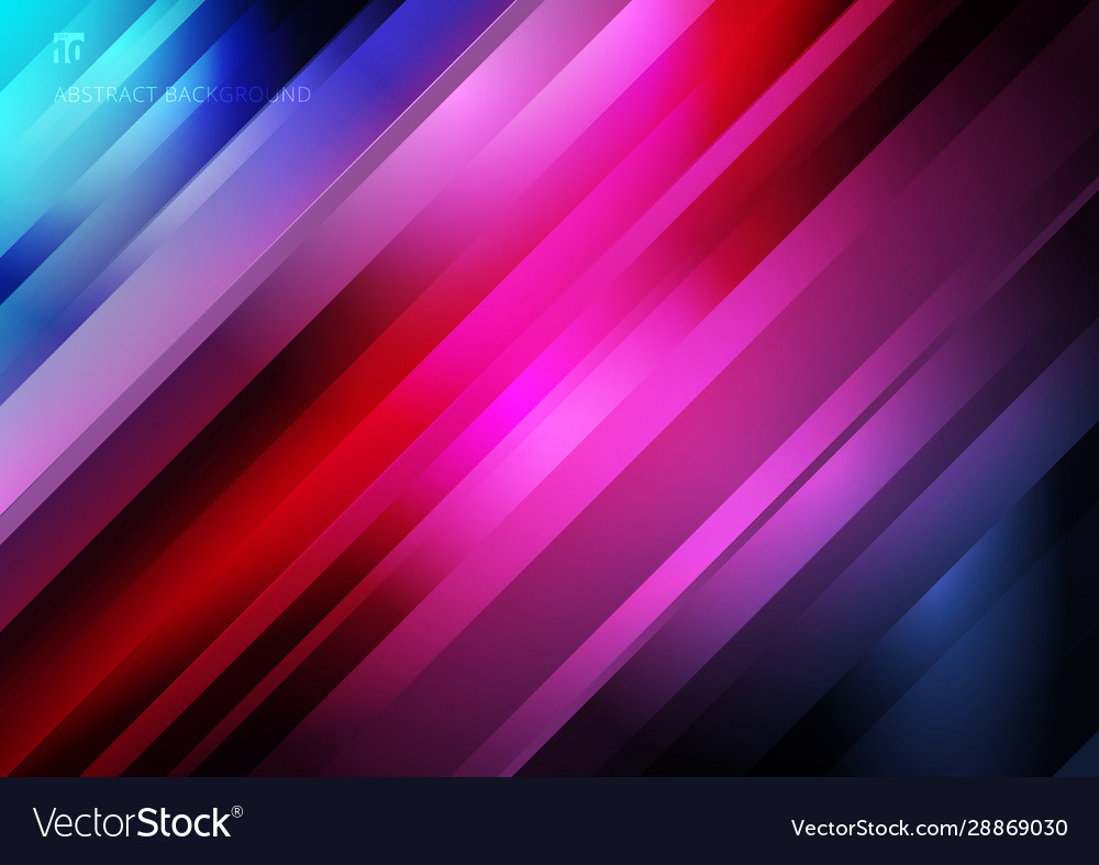 Abstract striped diagonal geometric lines pattern Vector Image