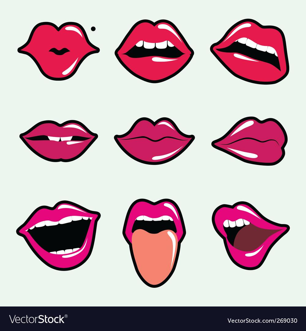 lips royalty free vector image vectorstock rh vectorstock com lips vector free download eps lips vector free download eps