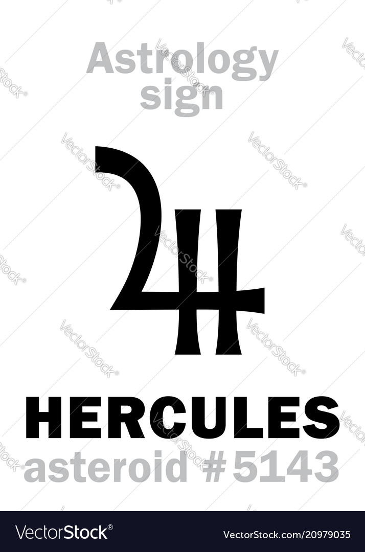 Astrology asteroid hercules heracles
