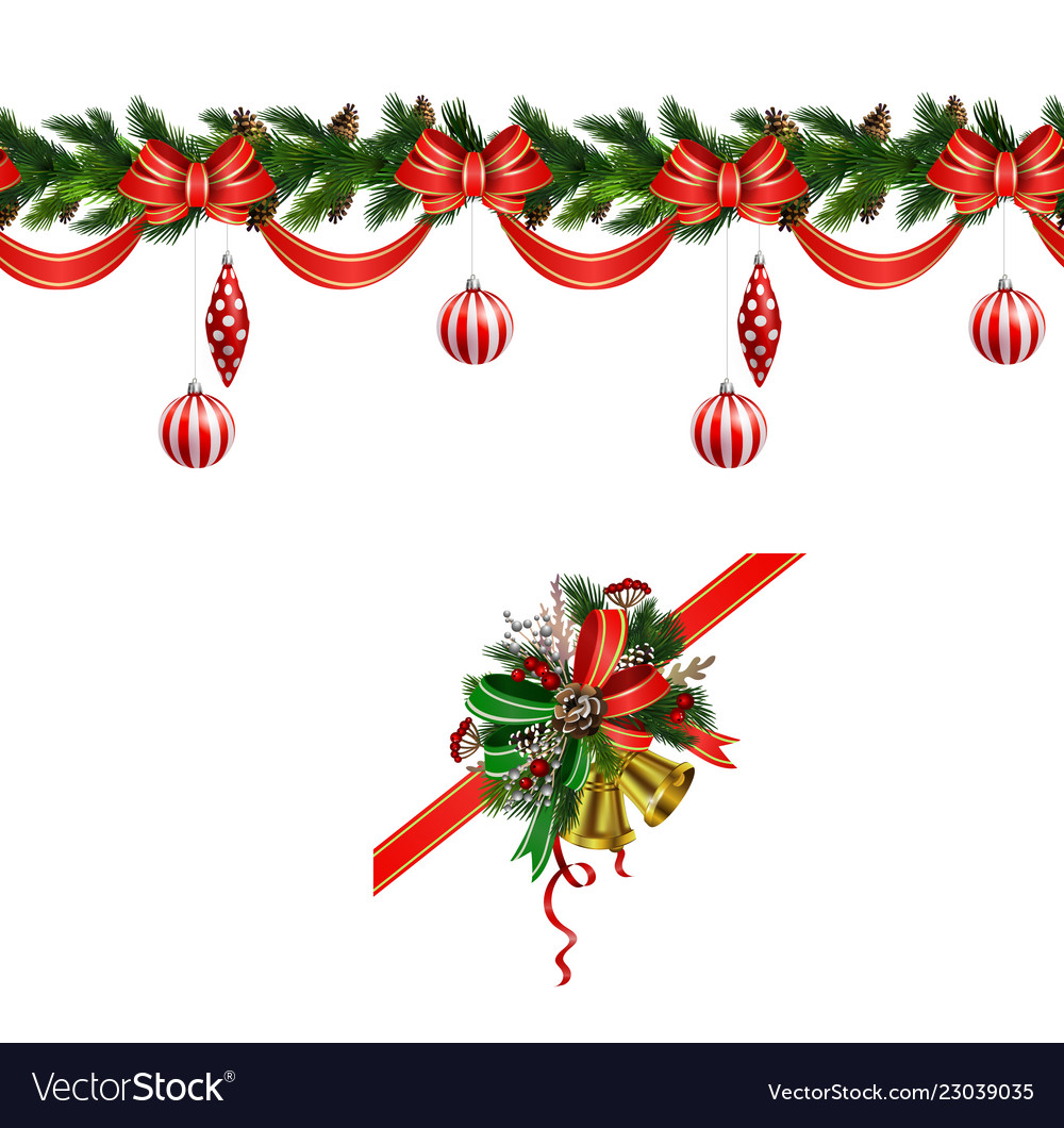 Christmas Elements For Your Designs Royalty Free Vector