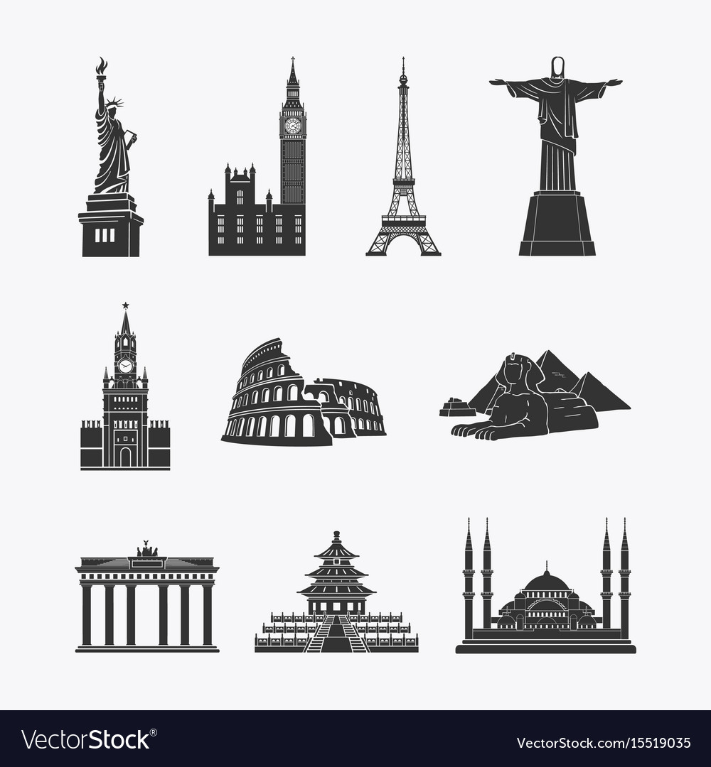 Landmarks symbols
