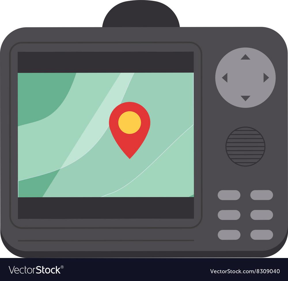 Car navigator mobile gps navigation flat