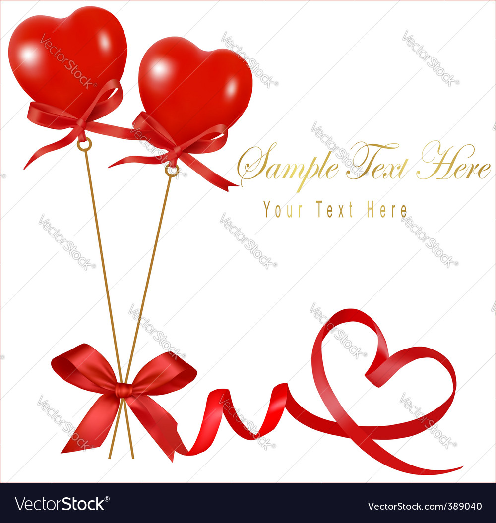 card with valentine background copy royalty free vector