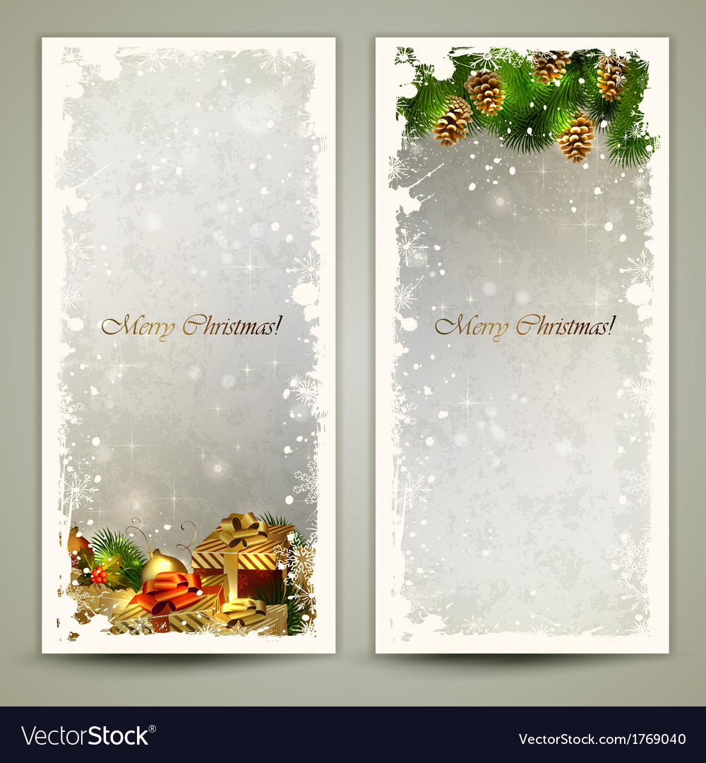 Two greeting cards