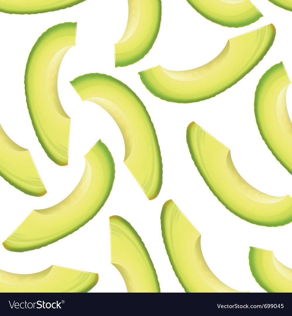Avocado seamless background