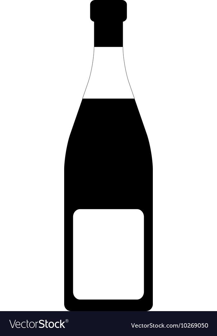Champagne Bottle Tag