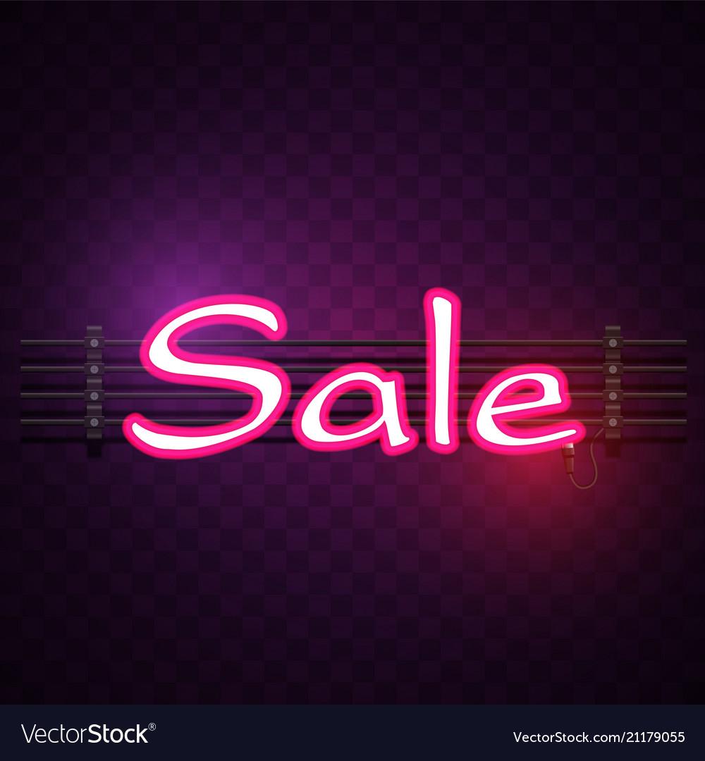 Pink sale neon purple background image