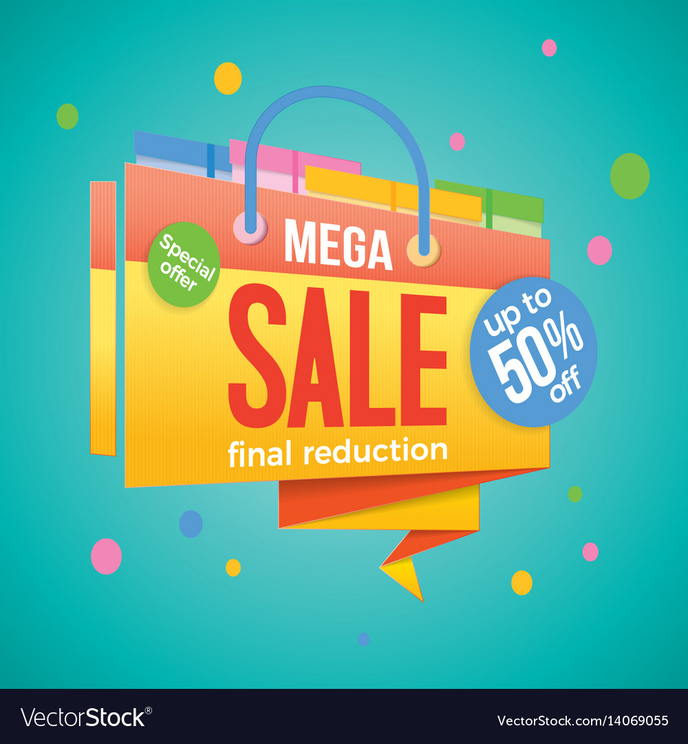 Sale label price tag banner badge template sticker