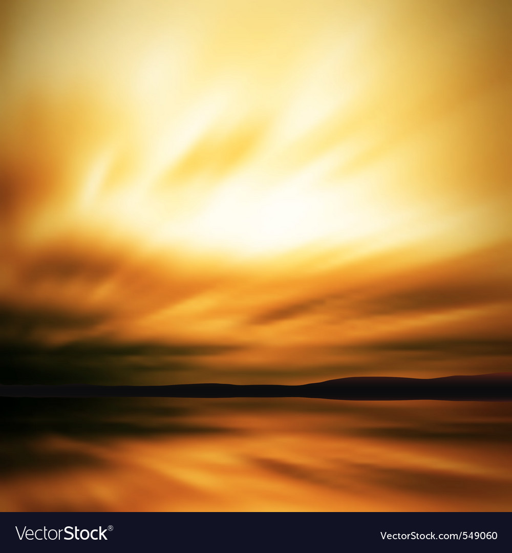 Dramatic sky blur vector