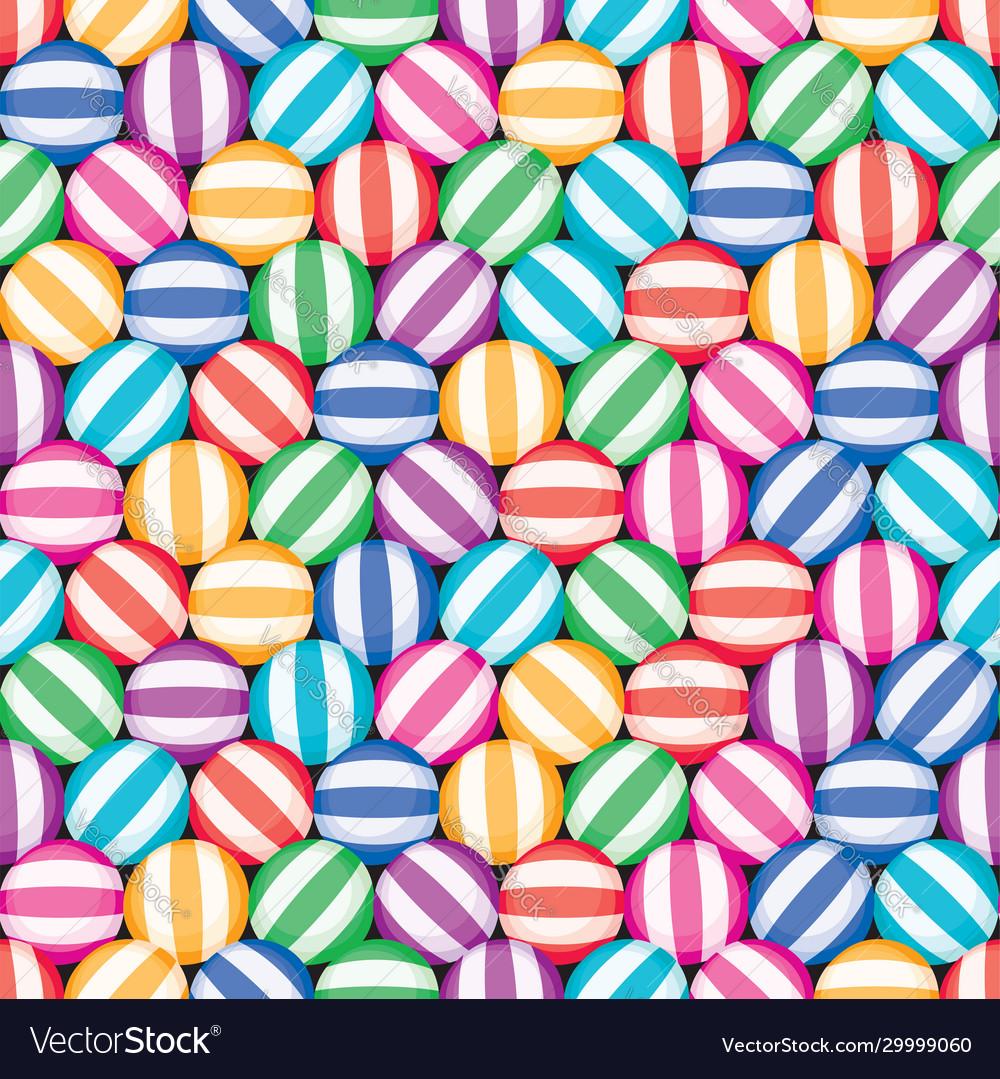 Seamless candy background pattern