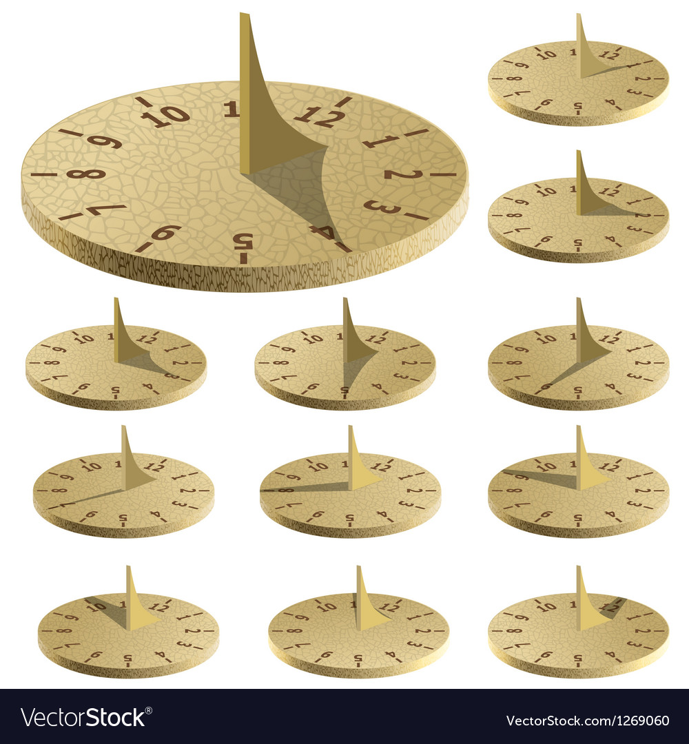 Sundial Measure time by the sun