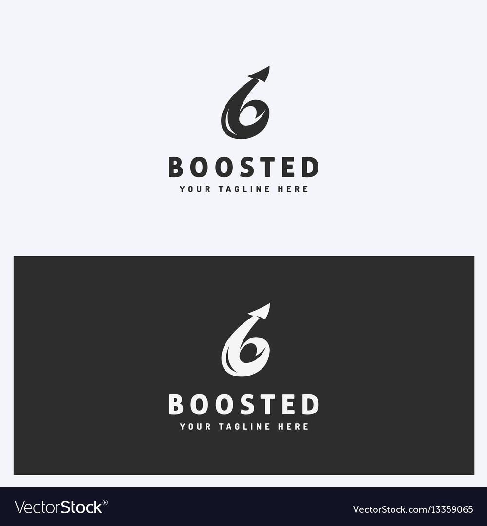 Arrow business logo design template