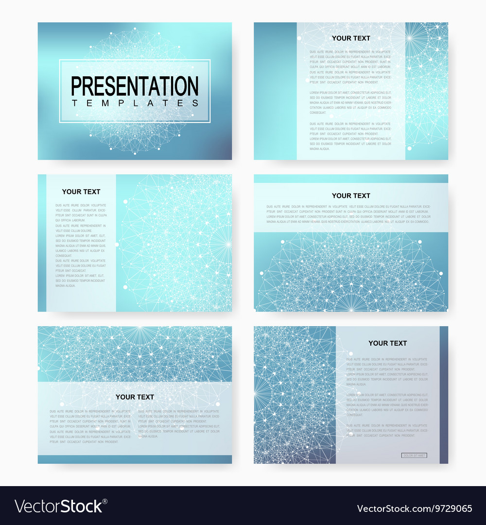 Set of templates for multipurpose