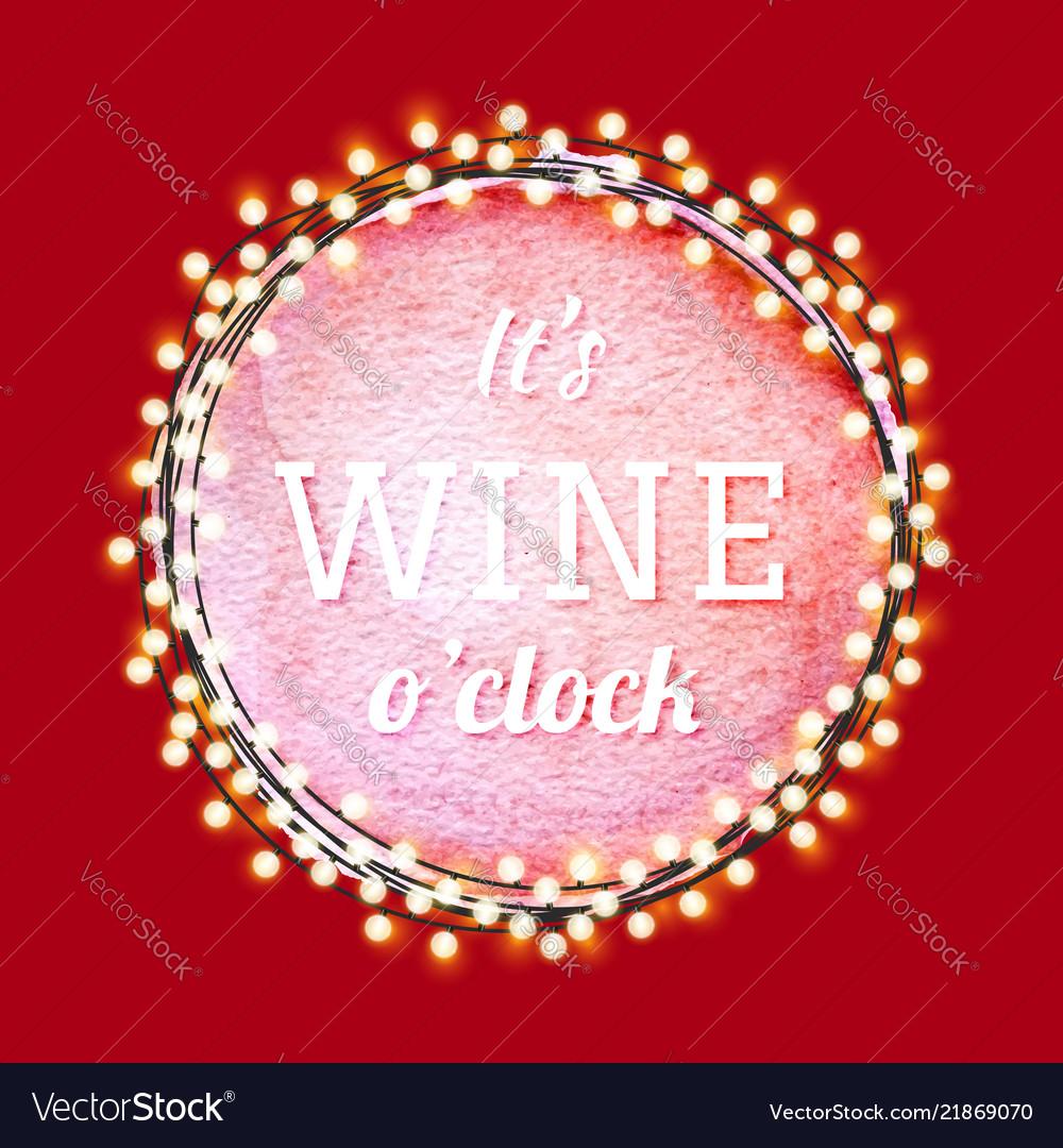 Wine quote label