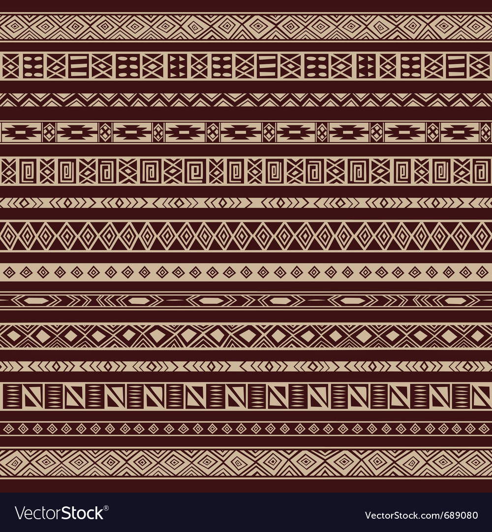 African ethnic stripes