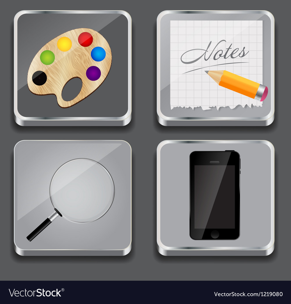Apps icon set
