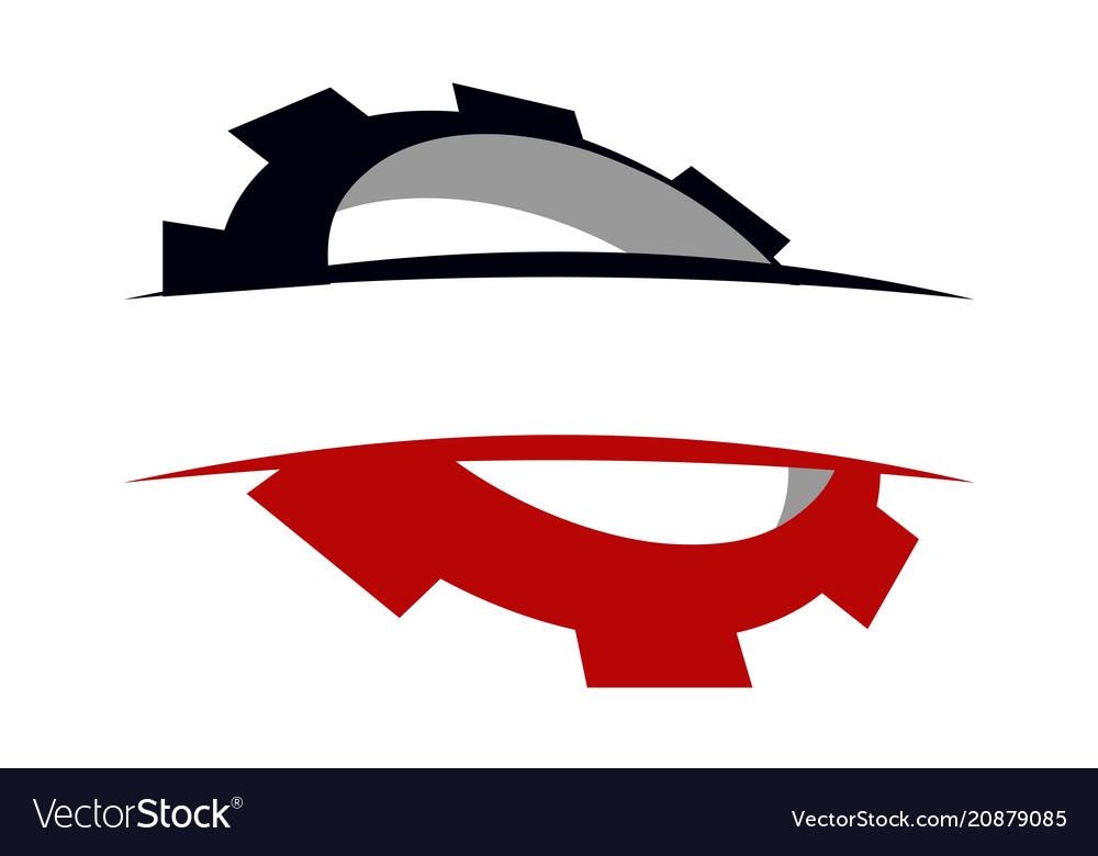 Gear template icon Royalty Free Vector Image - VectorStock