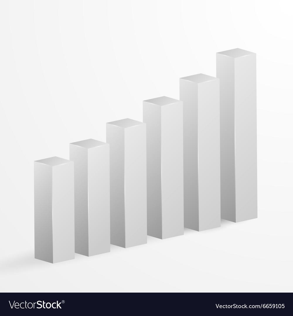 Financial bar graph background