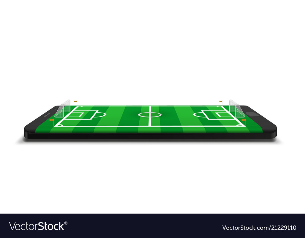Mobile football soccer mobile sport play match