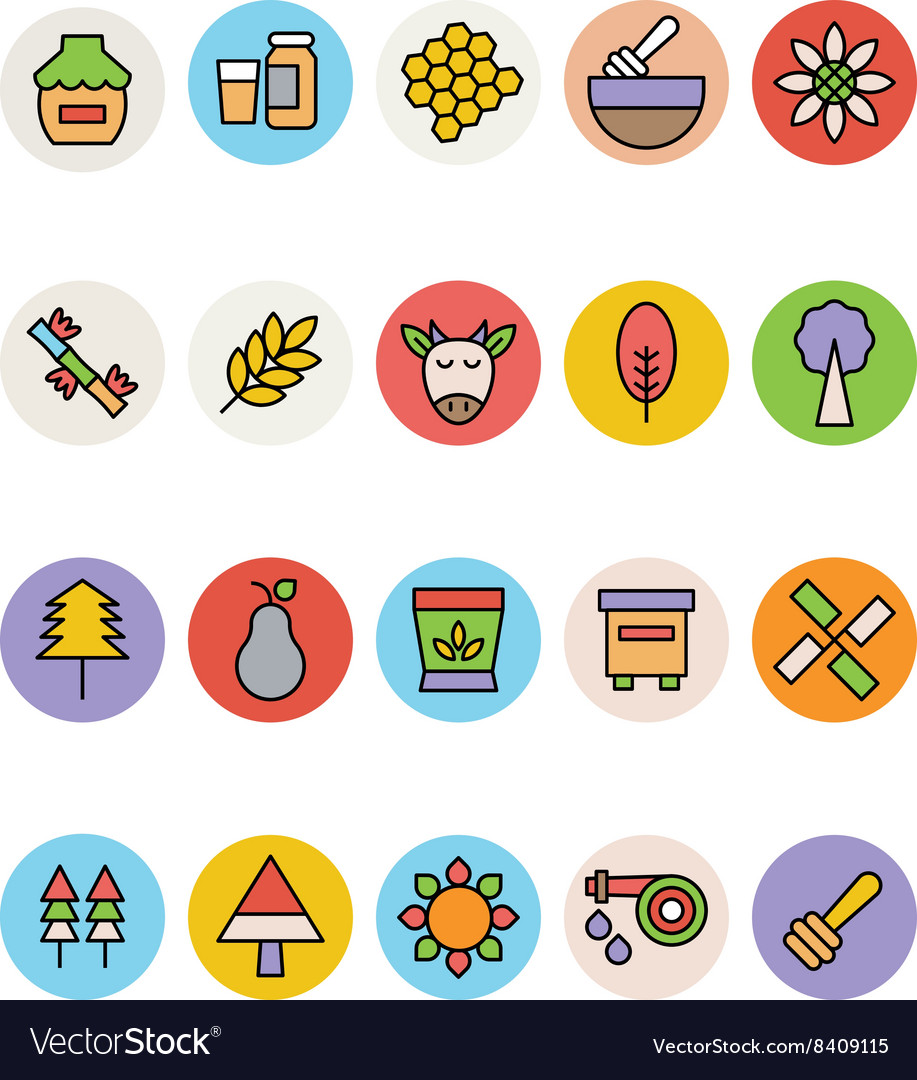 Agriculture Icons 3