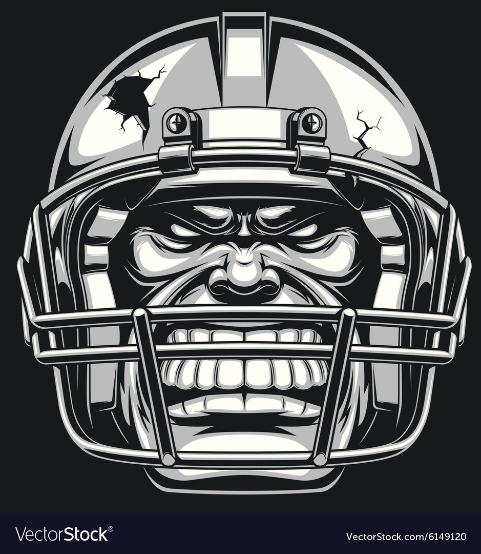 American football vector image