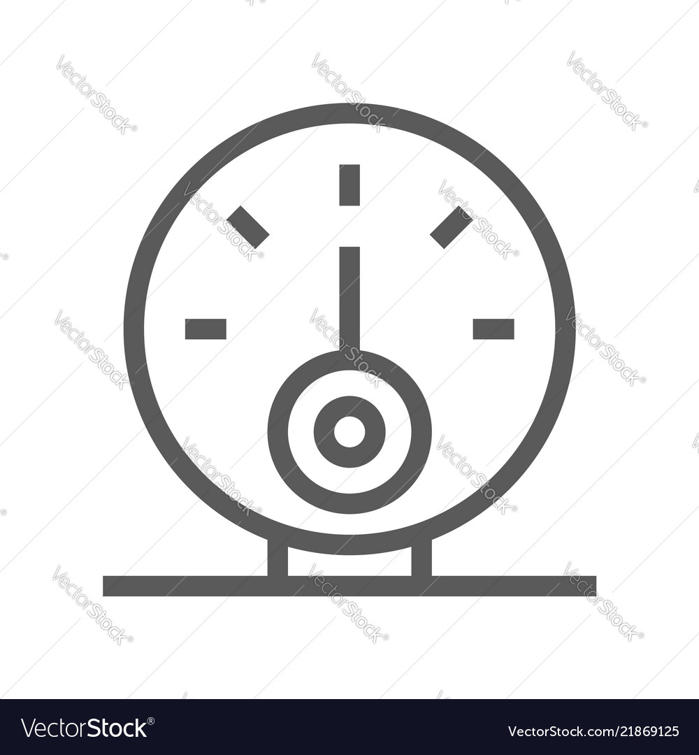 Oil and petrol industry line icon