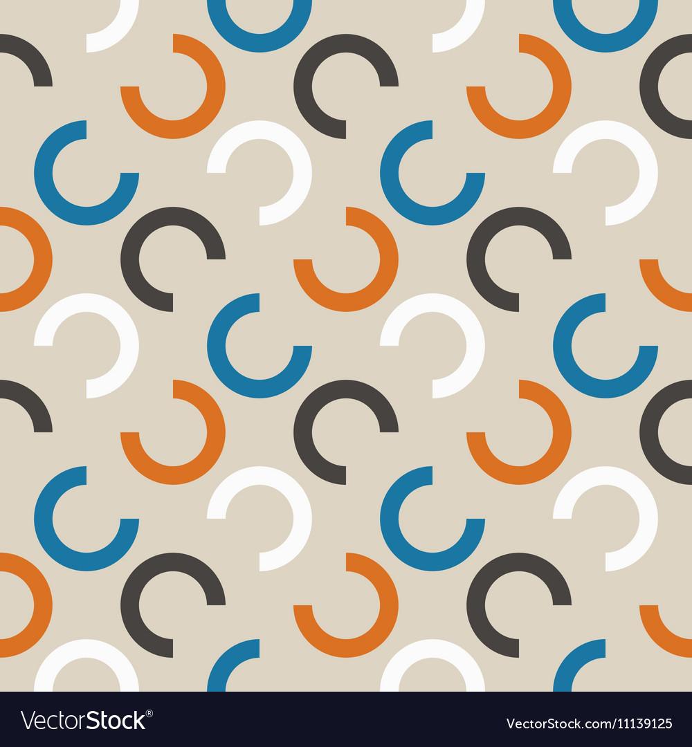 Repeating geometric seamless pattern