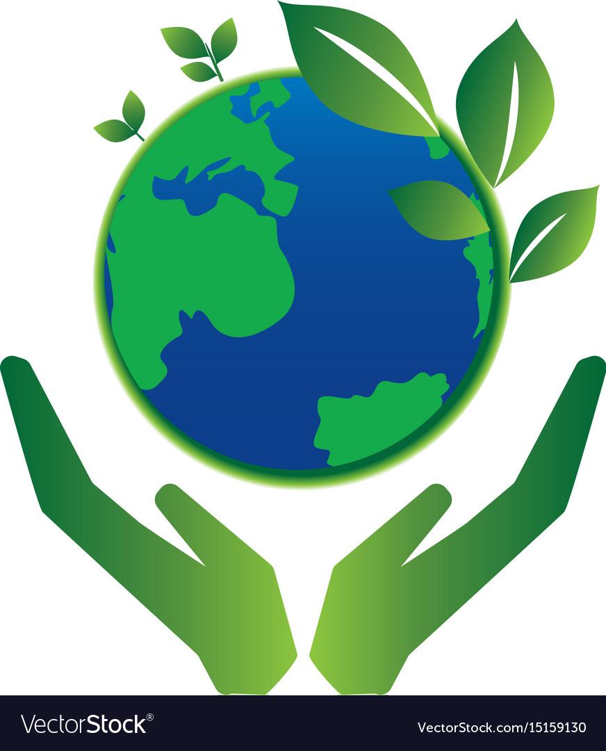 Save Earth Royalty Free Vector Image Vectorstock
