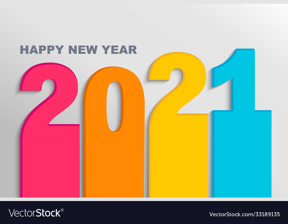Bright banner for new 11 year on light backdrop Vector Image