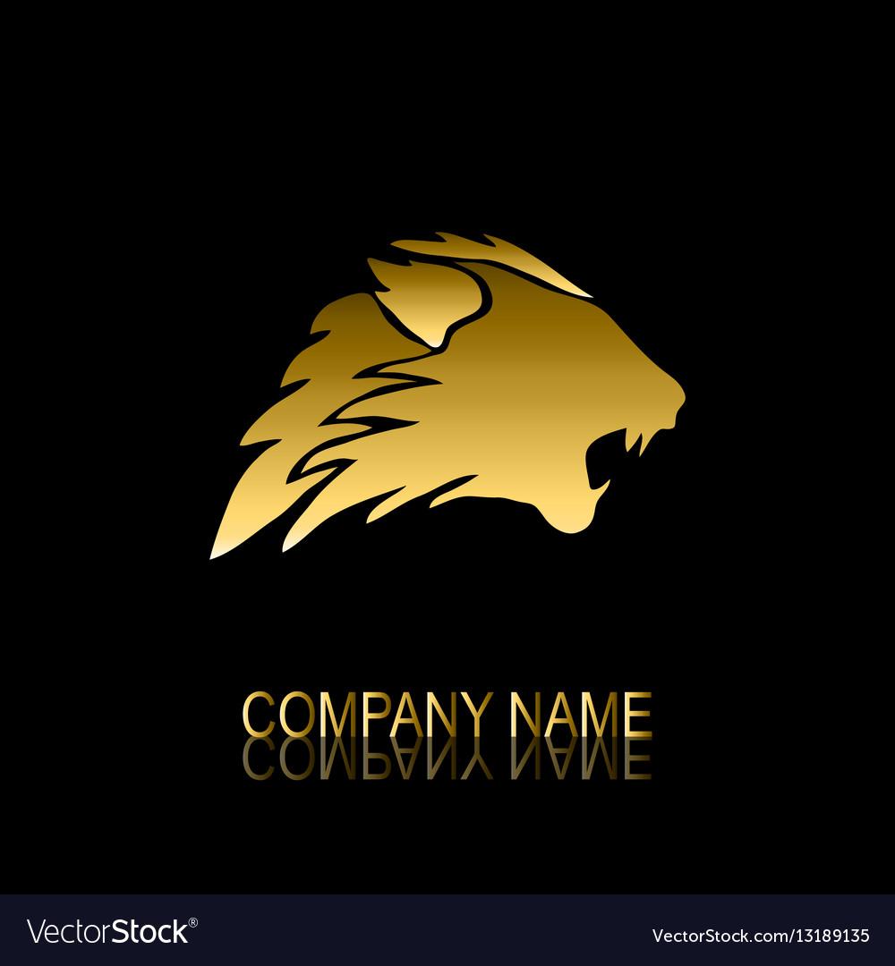 Golden lion symbol