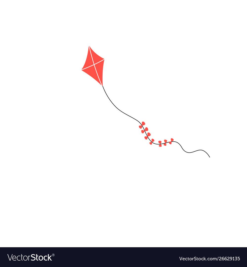 Icon color kite