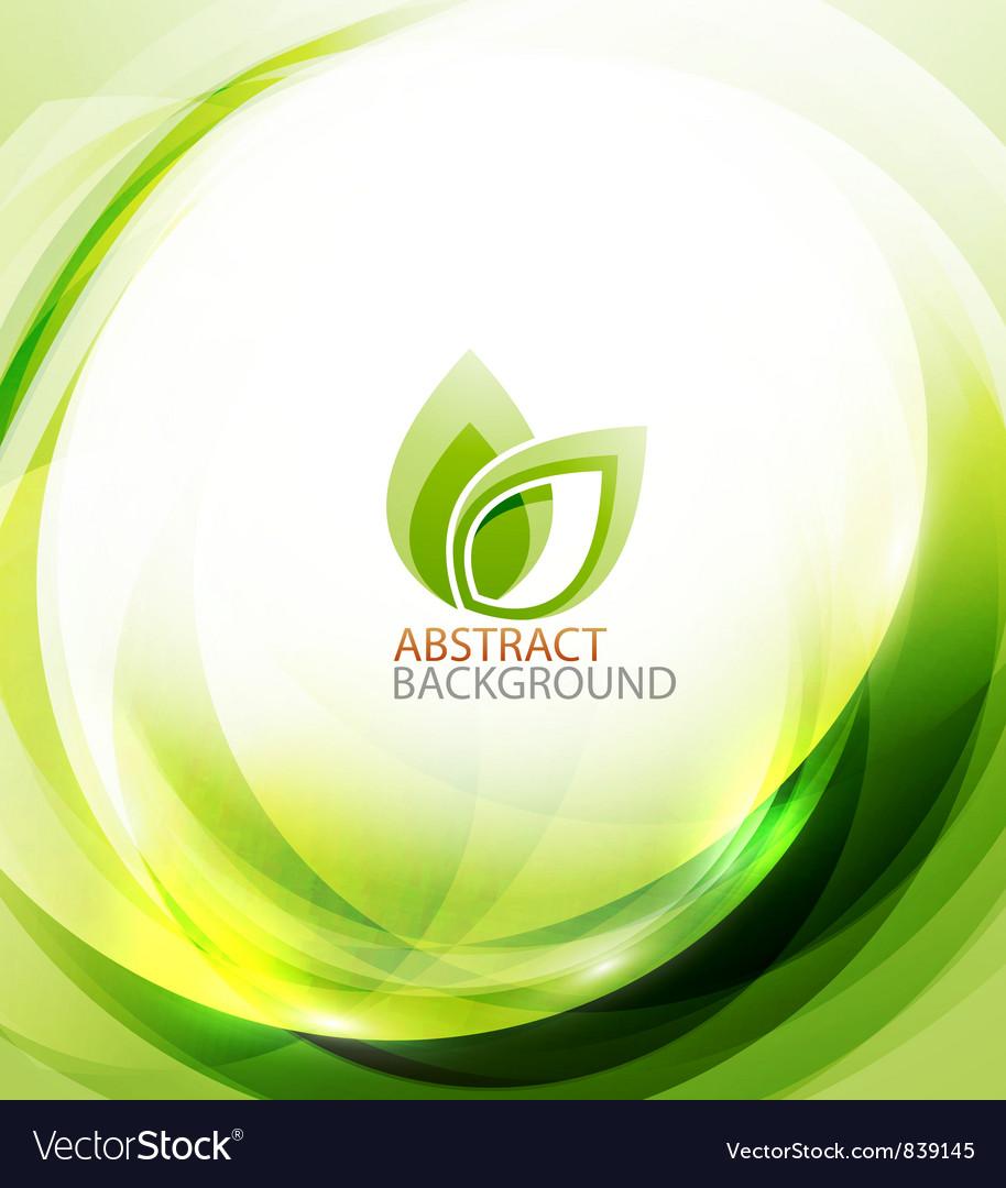 Green eco energy background
