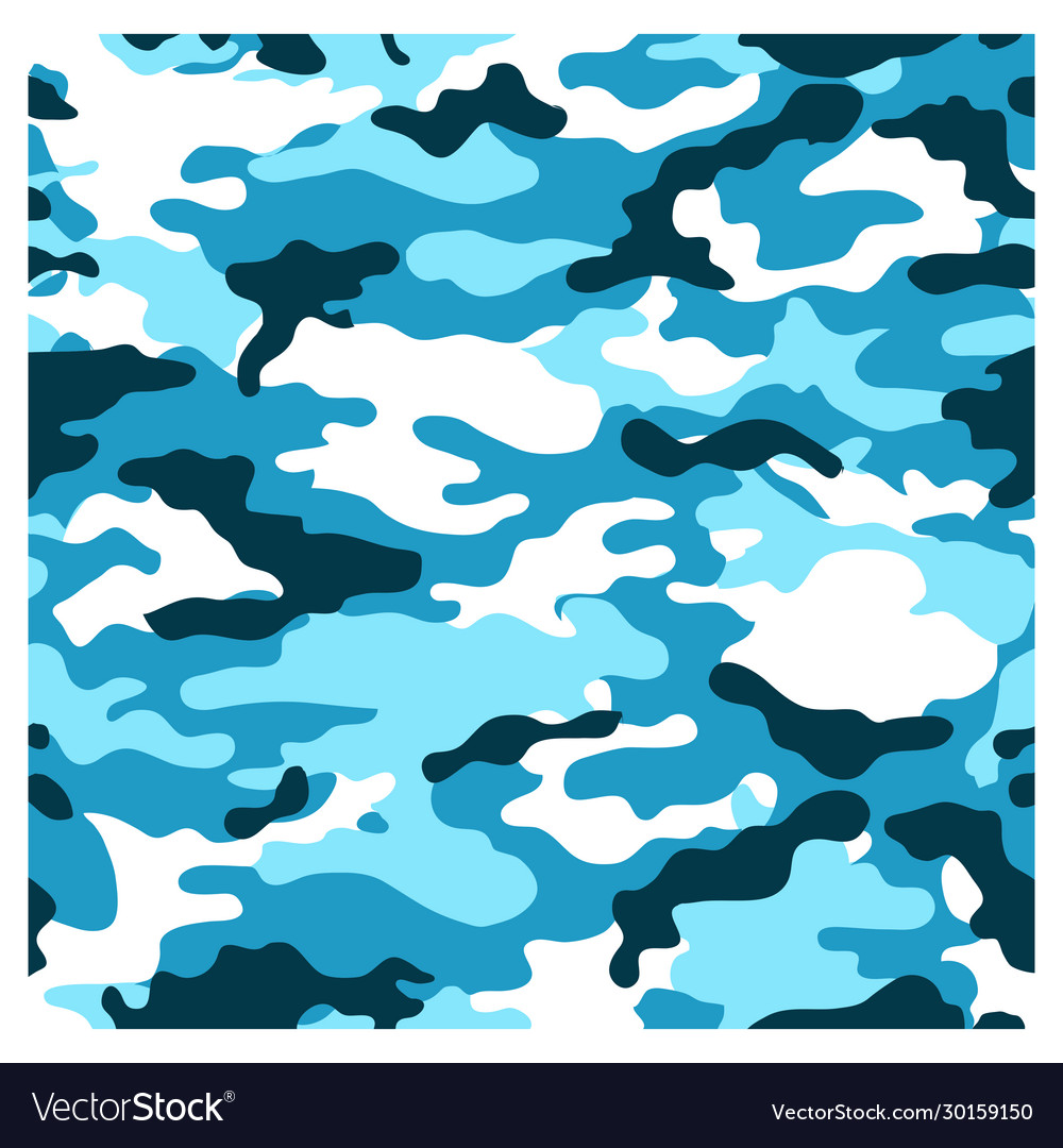 Abstract background camo flag pattern
