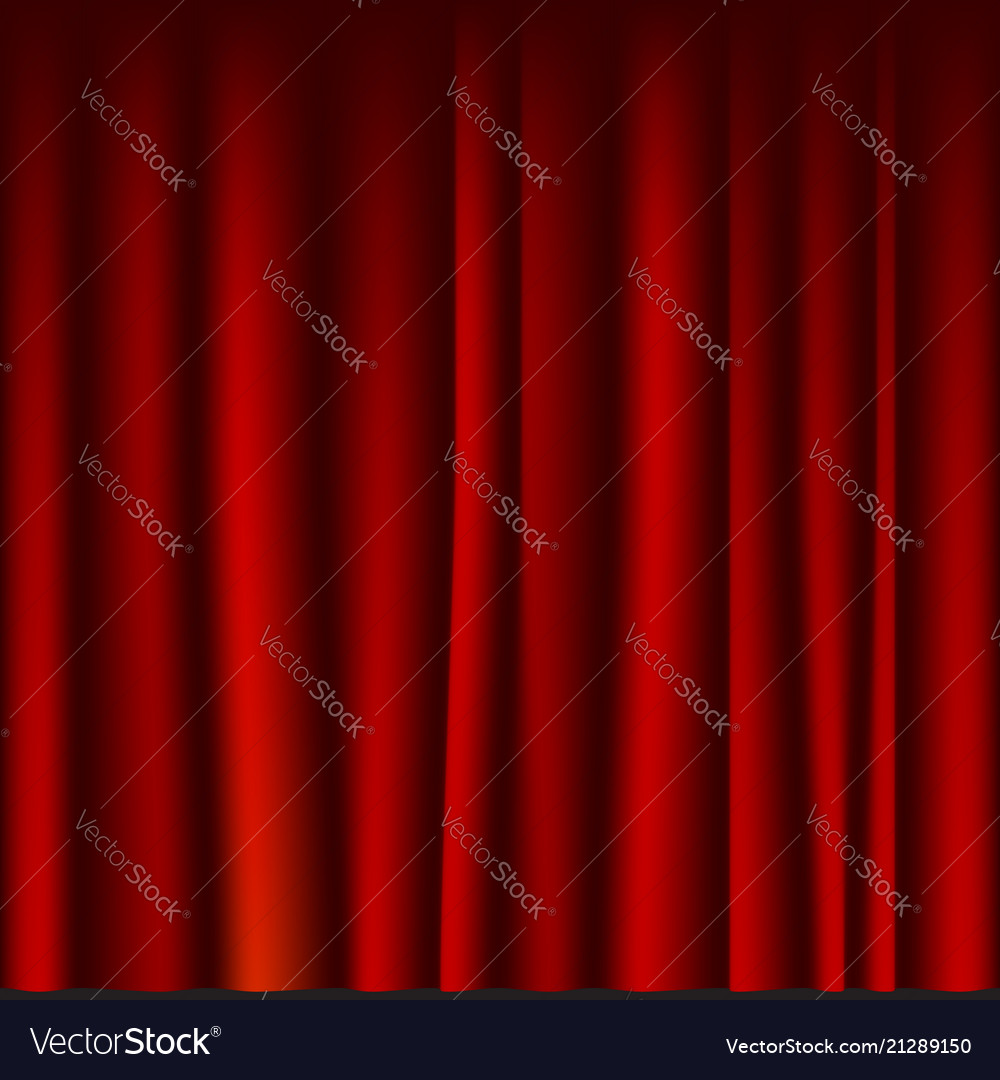 Creases drapery fabric red curtain seamless