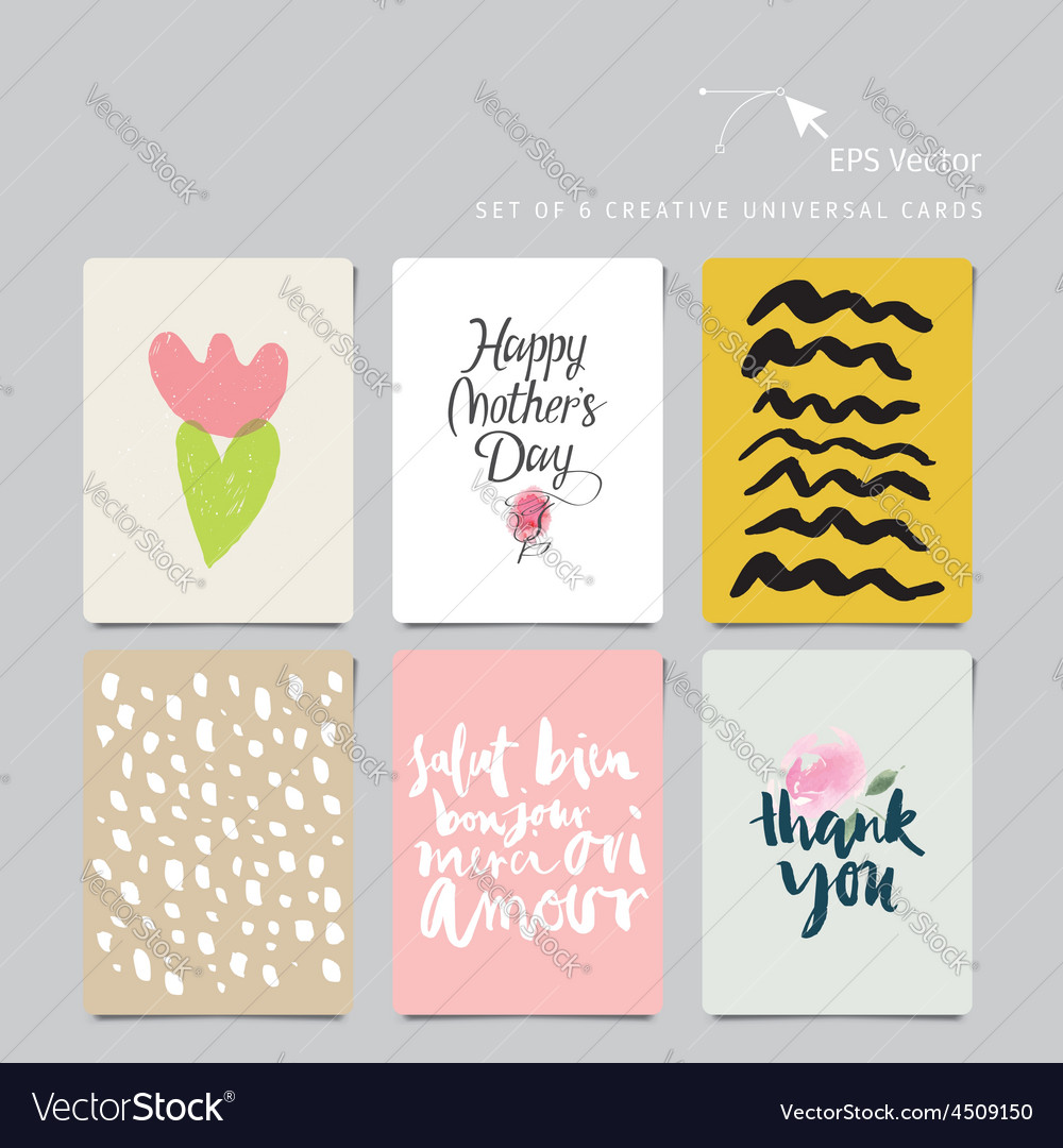 Creative universal card